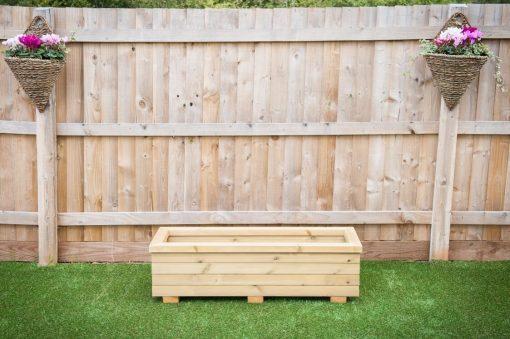 garden trough planter