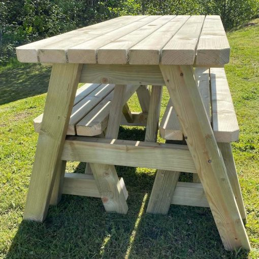 Branscombe Garden Table And Bench Set