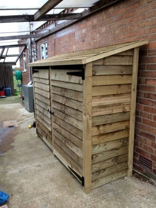 Gidleigh 6ft Double Bay log store