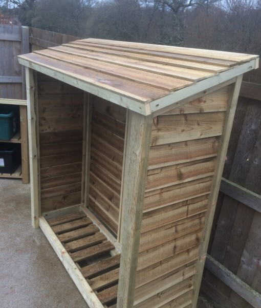 Ashbury Heavy Duty Log Store Outdoor Furniture