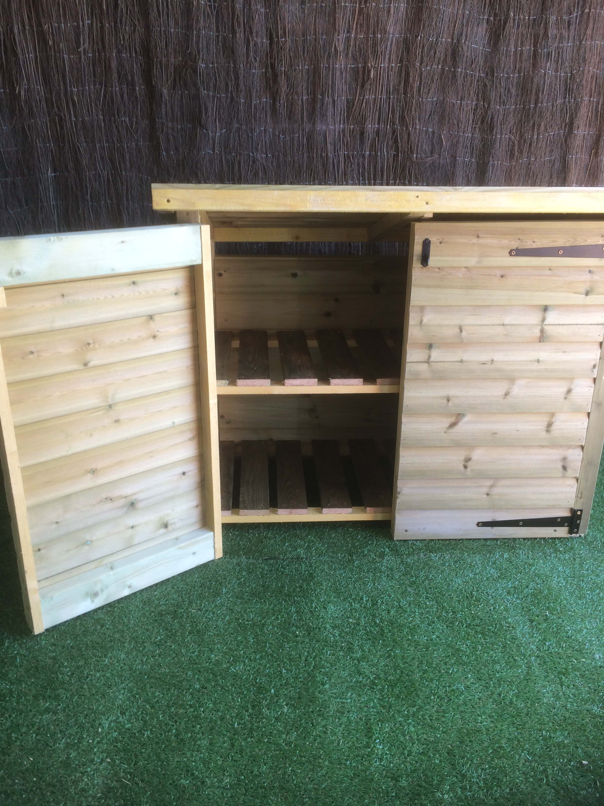 haleywood wooden storage