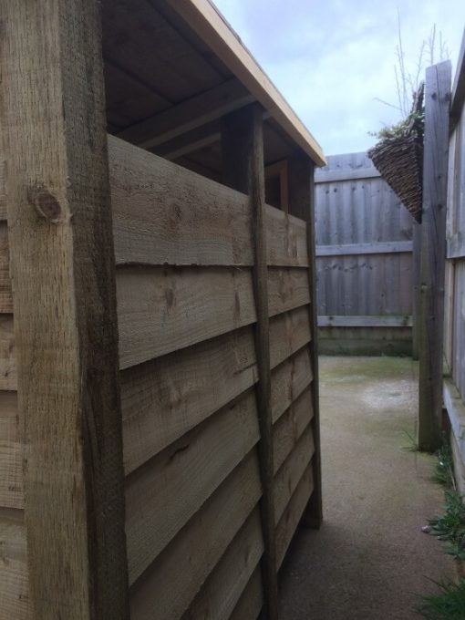 haleywood gidleigh 4ft firewood store