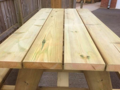 swedish redwood picnic table heavy duty